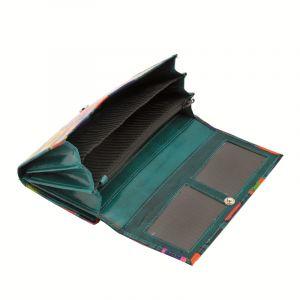 Dámská kožená peněženka Woman Vídeň zelená