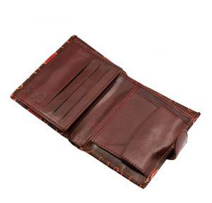 Dámská kožená peněženka Miss Rings hnědá | SoNo spol. s r.o.