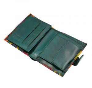 Dámská kožená peněženka Miss Vídeň zelená