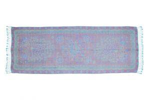 Dámská šála Thai pashmina 170 x 65 cm tyrkysová páv