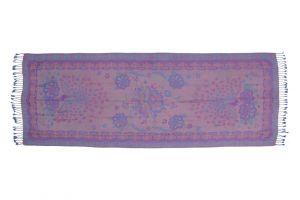 Dámská šála Thai pashmina 170 x 65 cm modro - fialová páv