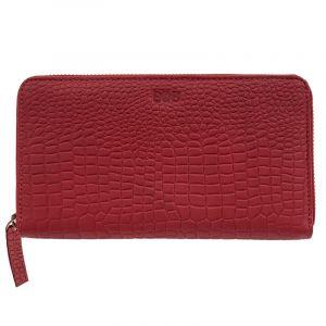 Luxusní dámská kožená peněženka Symmetry bordeaux Crocodile   SoNo spol. s r.o.