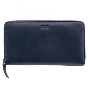 Luxusní dámská kožená peněženka Symmetry navy modrá | SoNo spol. s r.o.