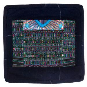 Povlak na polštář vyšívaný tkaný 45 x 45 cm A
