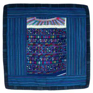 Povlak na polštář vyšívaný tkaný 45 x 45 cm B