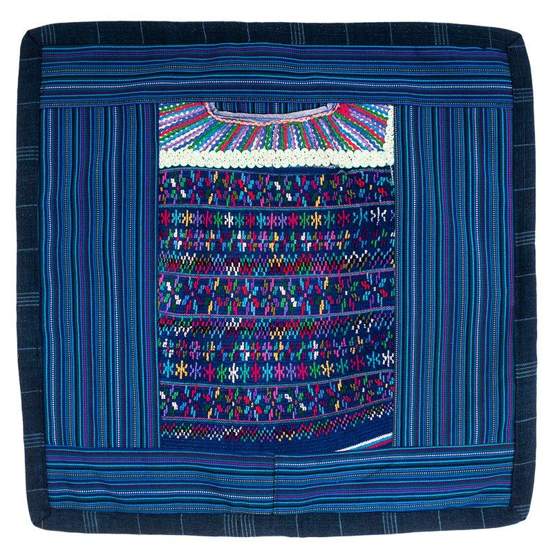 Povlak na polštář vyšívaný tkaný 45 x 45 cm B   SoNo spol. s r.o.
