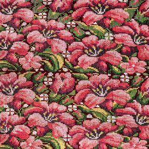 Povlak na polštář vyšívaný tkaný 45 x 45 cm C