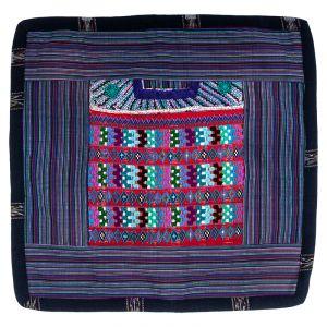 Povlak na polštář vyšívaný tkaný 45 x 45 cm D