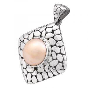 Stříbrný přívěsek perla Mabe Ag 7,9 g
