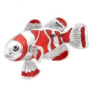 Stříbrný přívěsek korál Ag 5,4 g ryba