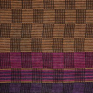 Dámská šála Glossy 200 x 70 cm fialová - béžová
