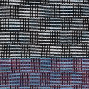 Dámská šála Glossy 200 x 70 cm modrá - černá | SoNo spol. s r.o.