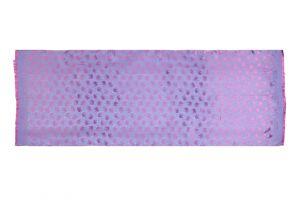 Šála Silk 170 x 65 cm fialová se slony | SoNo spol. s r.o.