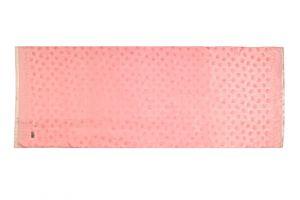 Šála Silk 170 x 65 cm lososová se slony | SoNo spol. s r.o.