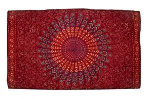 Šátek Peacock 170 x 110 cm červený H