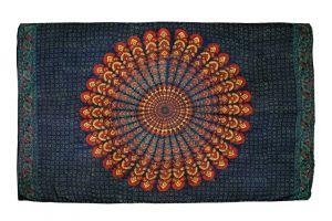 Šátek Peacock 170 x 110 cm modrý A