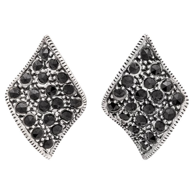 Stříbrné náušnice se zirkony Ag 4,9 g | SoNo spol. s r.o.