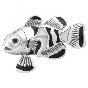 Stříbrný přívěsek perleť Ag 5,6 g ryba
