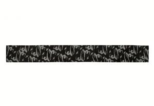 Hedvábný šátek 150 x 20 cm Jogini černý | SoNo spol. s r.o.