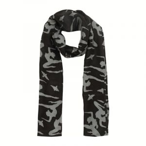Šátek hedvábí 150 x 20 Jogini černý