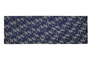 Hedvábný šátek 150 x 50 cm Jogini modrý II | SoNo spol. s r.o.