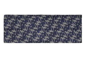 Hedvábný šátek 150 x 60 cm Jogini modrý II | SoNo spol. s r.o.