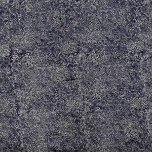 Hedvábný šátek 150 x 60 cm Květy modrý II | SoNo spol. s r.o.
