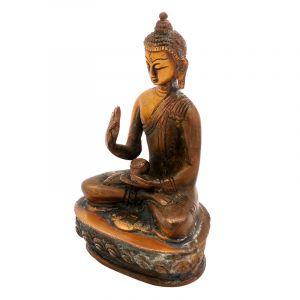 Kovová soška Buddha 12 cm