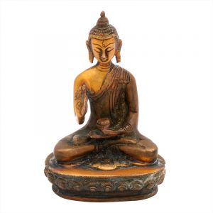 Soška Buddha kov 12 cm