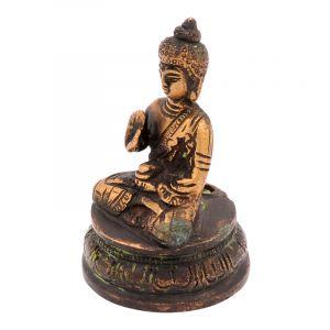 Kovová soška Buddha 8 cm