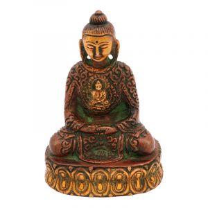 Soška Buddha kov 09,5 cm