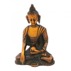Soška Buddha kov 09 cm
