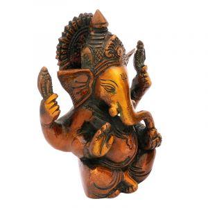 Kovová soška Ganesh 12 cm