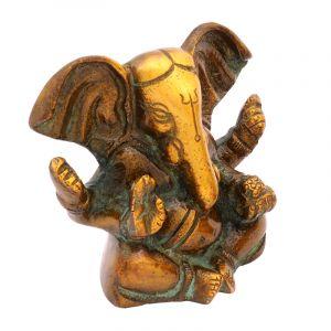 Kovová soška Ganesh 7,5 cm