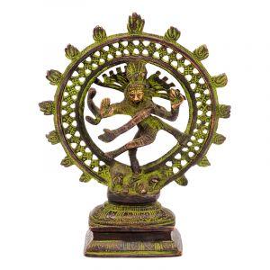 Soška Shiva Nataraja kov 20 cm