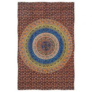 Přehoz Mandala Flower pestrobarevný 205 x 135 cm