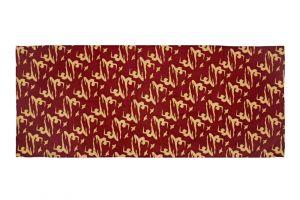 Šátek Paris 155 x 65 cm Jogini vínový bavlněný