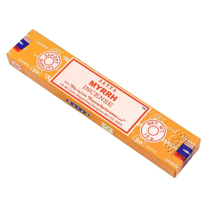 Satya Myrrh - Myrha indické vonné tyčinky 15 g | SoNo spol. s r.o.
