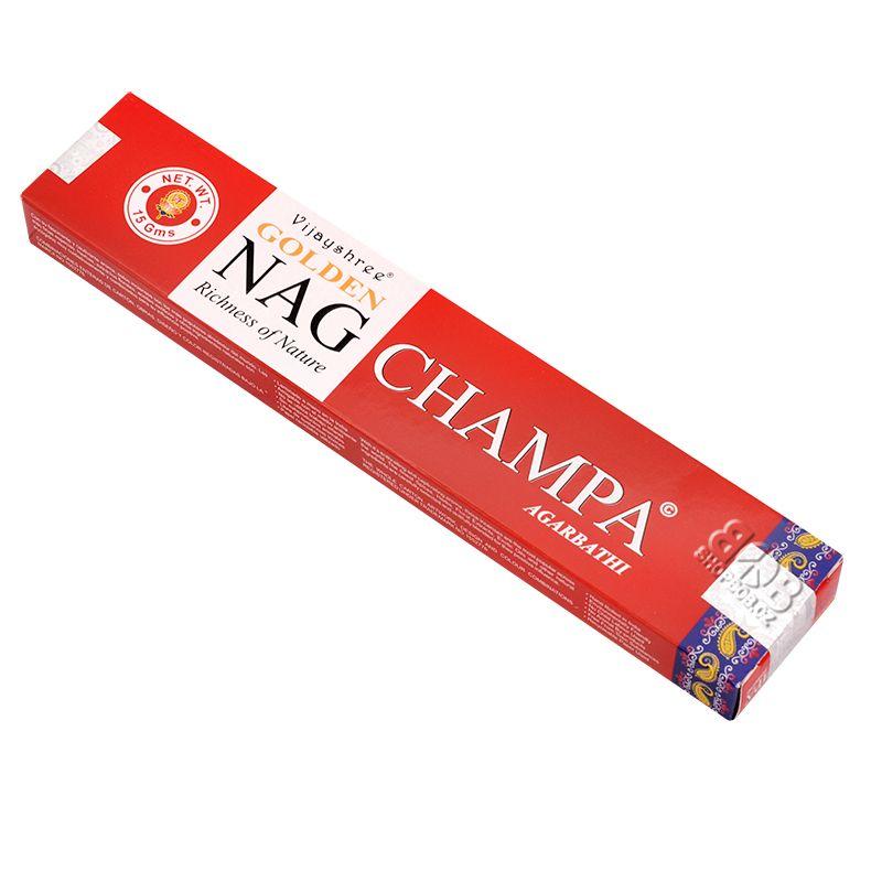 Vijayshree Golden Nag Champa indické vonné tyčinky 15 g | SoNo spol. s r.o.