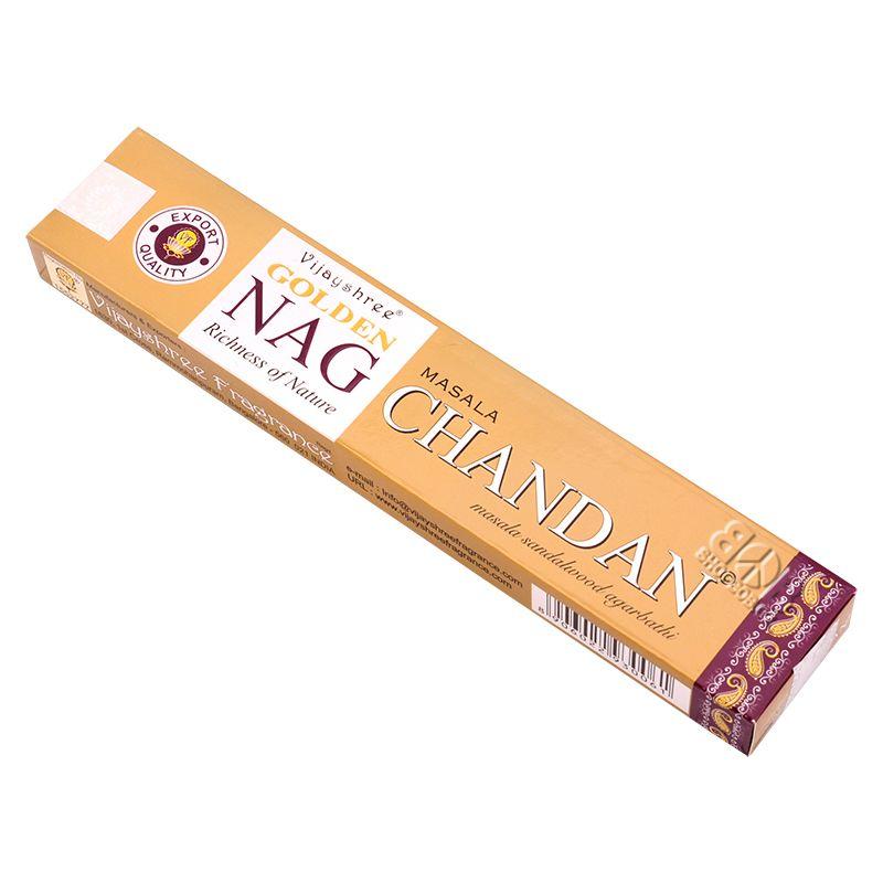 Vijayshree Golden Nag Chandan masala indické vonné tyčinky 15 g