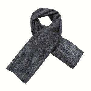 Šátek hedvábí 110 x 105 Květy modrý II