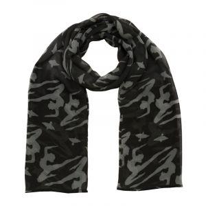 Šátek hedvábí 150 x 50 Jogini černý šifon