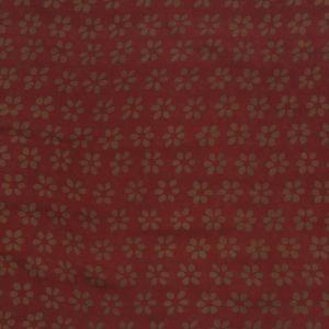 Hedvábný šátek 150 x 50 cm Květy vínový šifon | SoNo spol. s r.o.