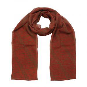 Šátek hedvábí 150 x 50 Parang červený šifon