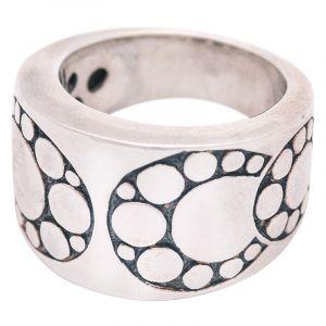 Stříbrný prsten Ag 14,8 g ornament
