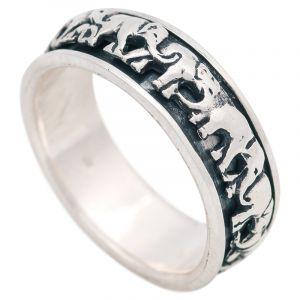 Stříbrný prsten Ag 7,0 g sloni | SoNo spol. s r.o.