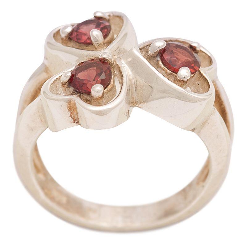 Stříbrný prsten s granáty Ag 5,9 g   SoNo spol. s r.o.