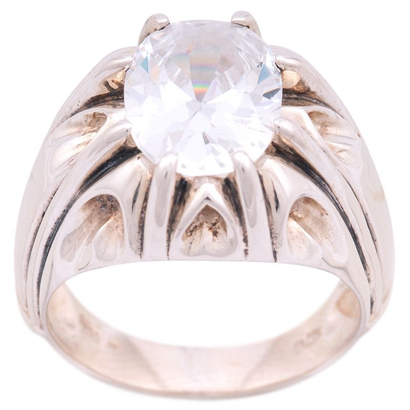 Stříbrný prsten se zirkonem Ag 10,5 g | SoNo spol. s r.o.