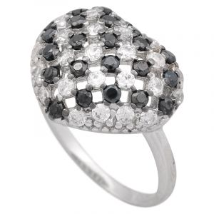 Stříbrný prsten se zirkony Ag 5,0 g | SoNo spol. s r.o.